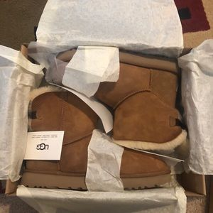 UGG Mini Bailey Bow II Boots Chestnut Brown